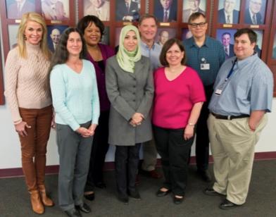 Members of the TEACTH Steering Committee during the Nov. 25 Faculty Mini-Retreat