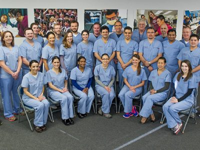 The first group of Implant Continuum participants completed the course on March 7. This is a group shot of all the participants.