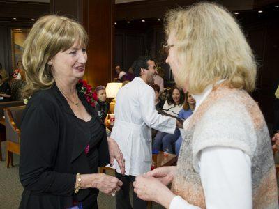 Debbie Ruff and Jeanne Santa Cruz