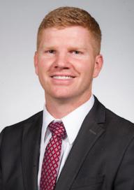 Endodontic resident Dr. Cole Barnett