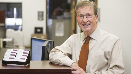 Dr. Jack Long, associate dean for student affairs