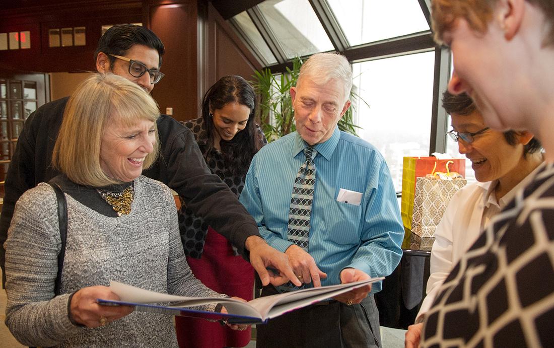 Dr. Harvey Kessler retirement reception