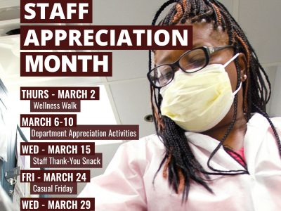 Staff Appreciation Month