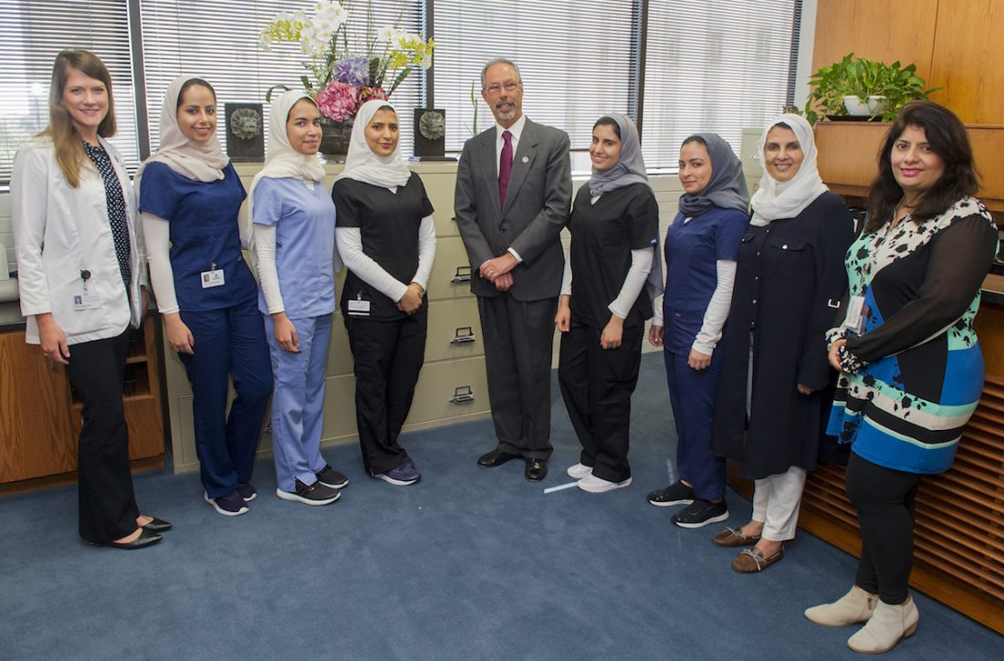 Dean Wolinsky, Saudi administrators and Saudi students